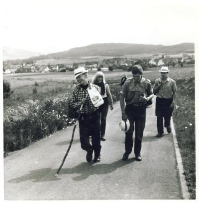 Wanderung in der Eifel 1965
