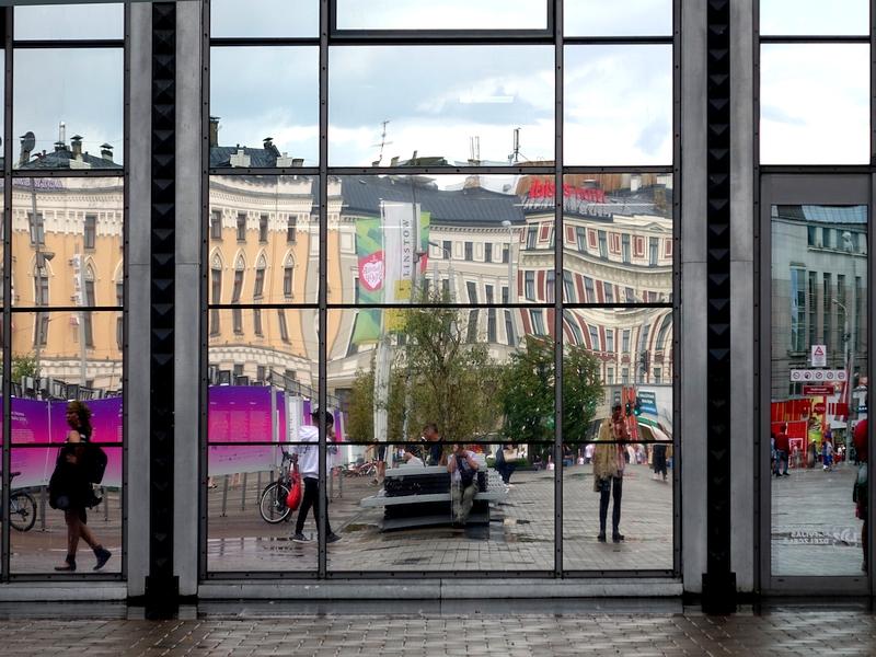 Bahnhofsvorplatz von Riga (2018)