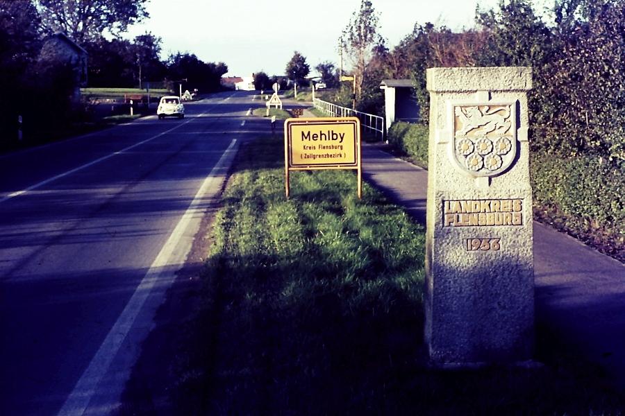 Kappeln - Stadt- und Kreisgrenze - Foto: Asmus Peter Weiland