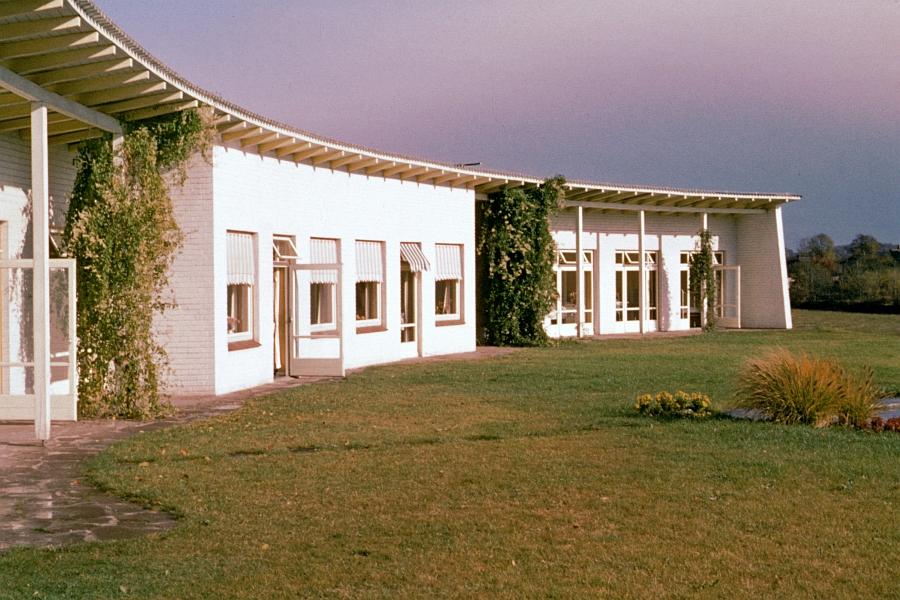 Kappeln - Margarethen-Klinik - Foto: Walter Stöckel (50er-Jahre)