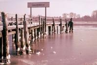 Kappeln - Concordiabrücke - Foto: Walter Stöckel (50er-Jahre)