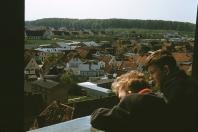 Kappeln - Blick vom Kirchturm - Foto: Walter Stöckel (1961)